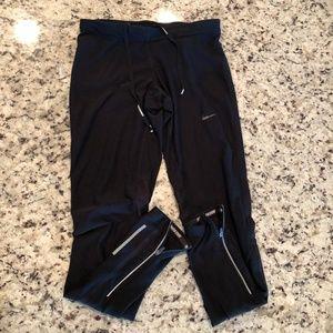 Nike Dri Fit Running Leggings Tights Black Size S